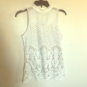 Beautiful lace tank top